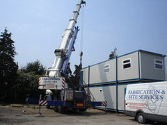Fabrication and Site Services UK Yard